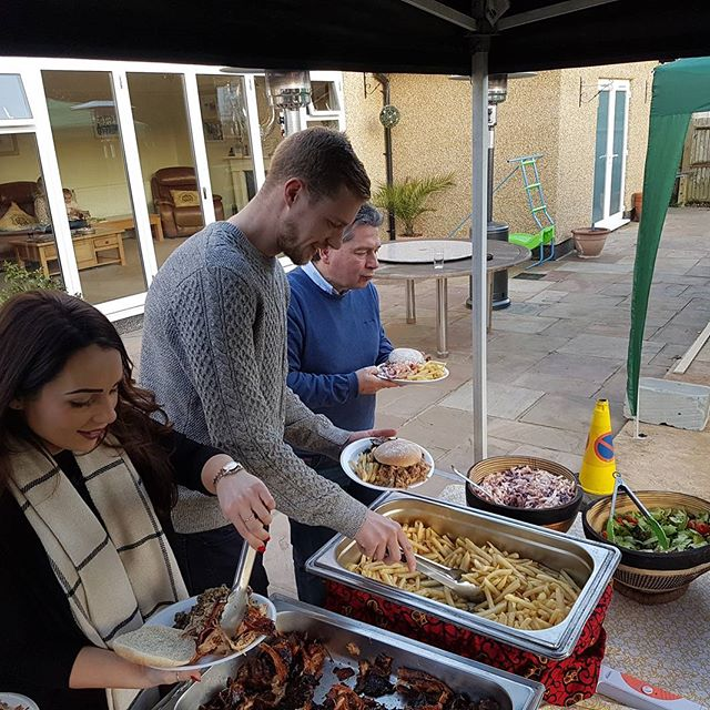 Steven's Birthday Hog Roast 24/2/2018