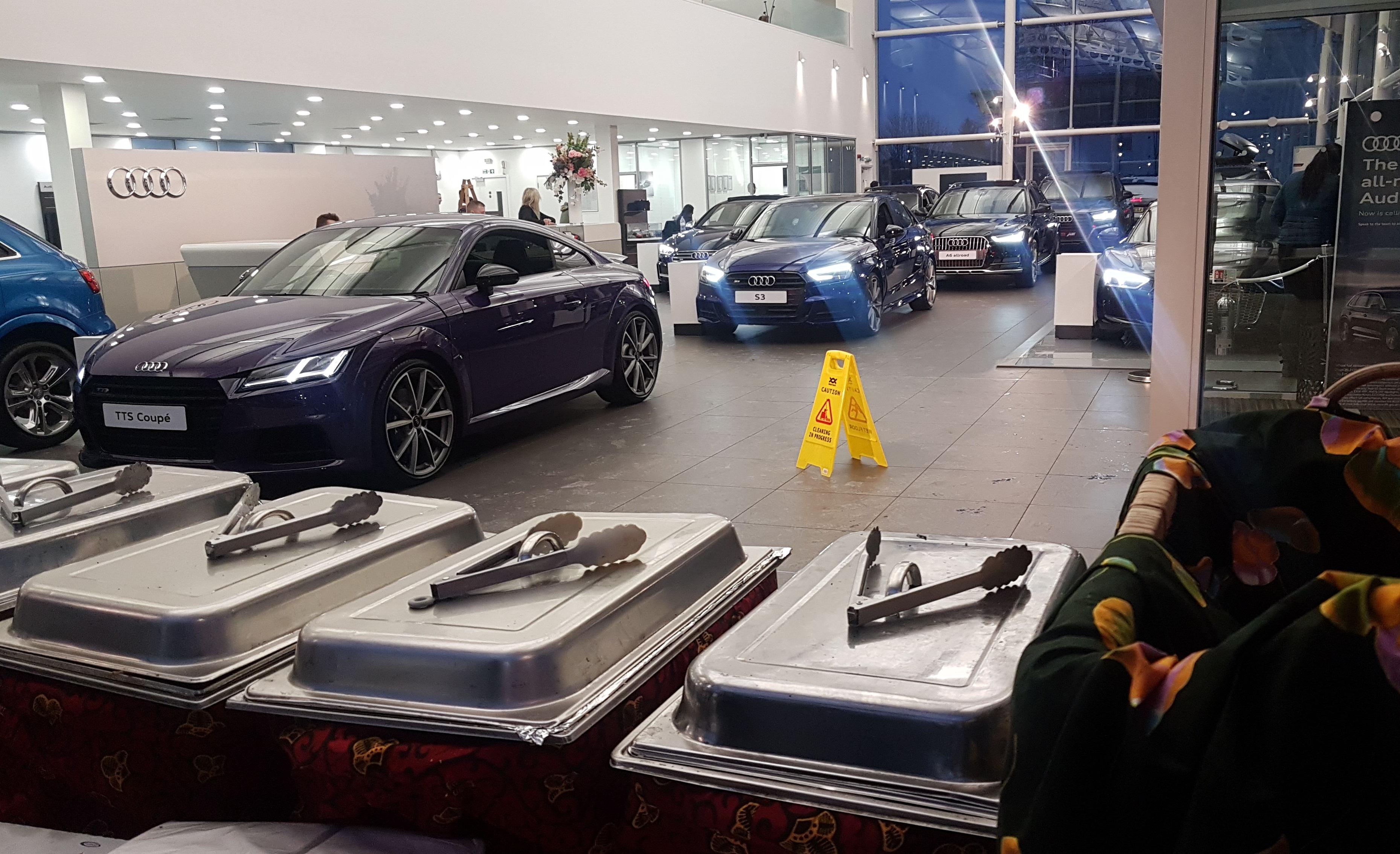 Audi Client's BBQ 1/3/2018