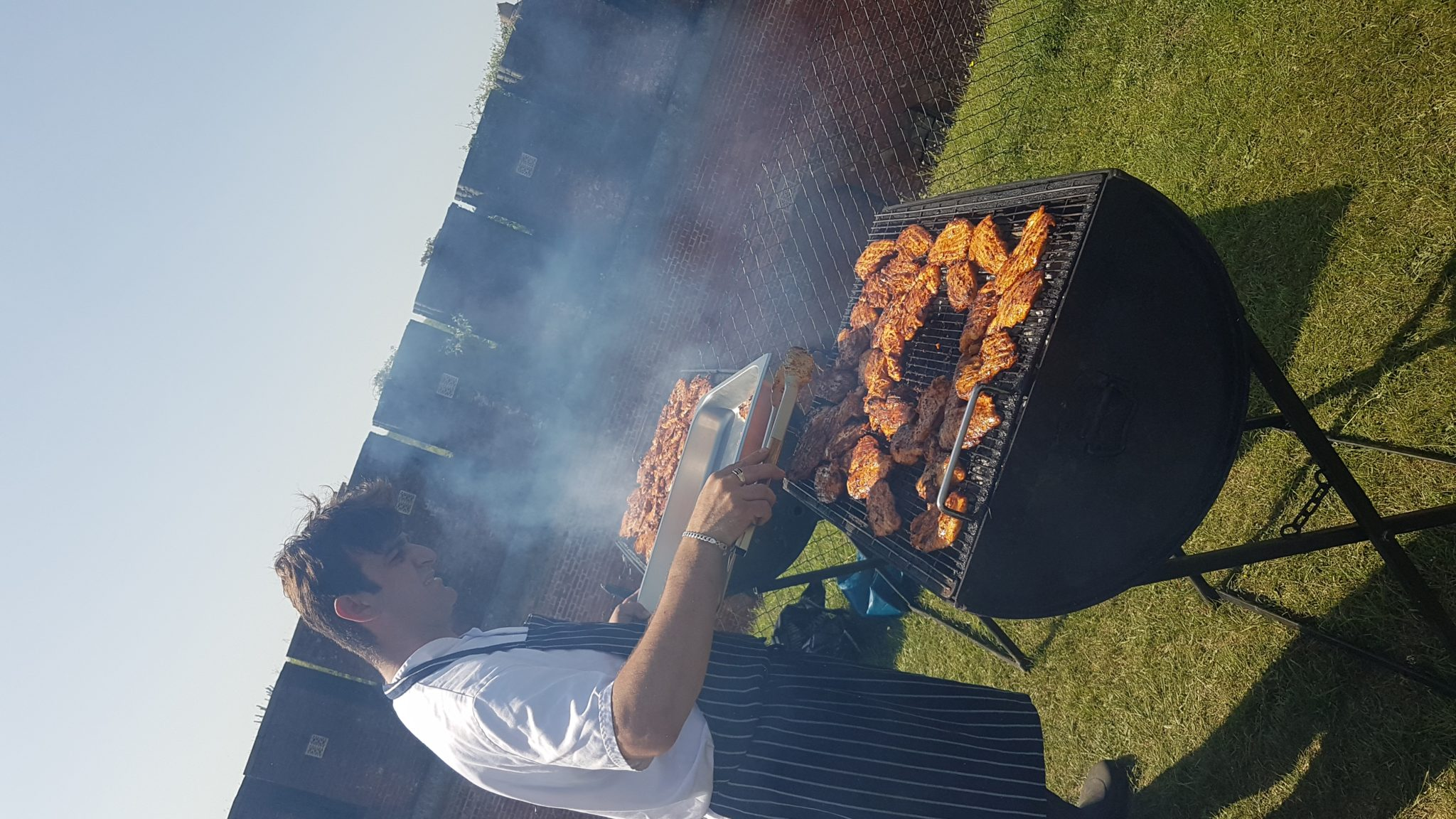 GRILLING OUR SIGNATURE CHICKEN