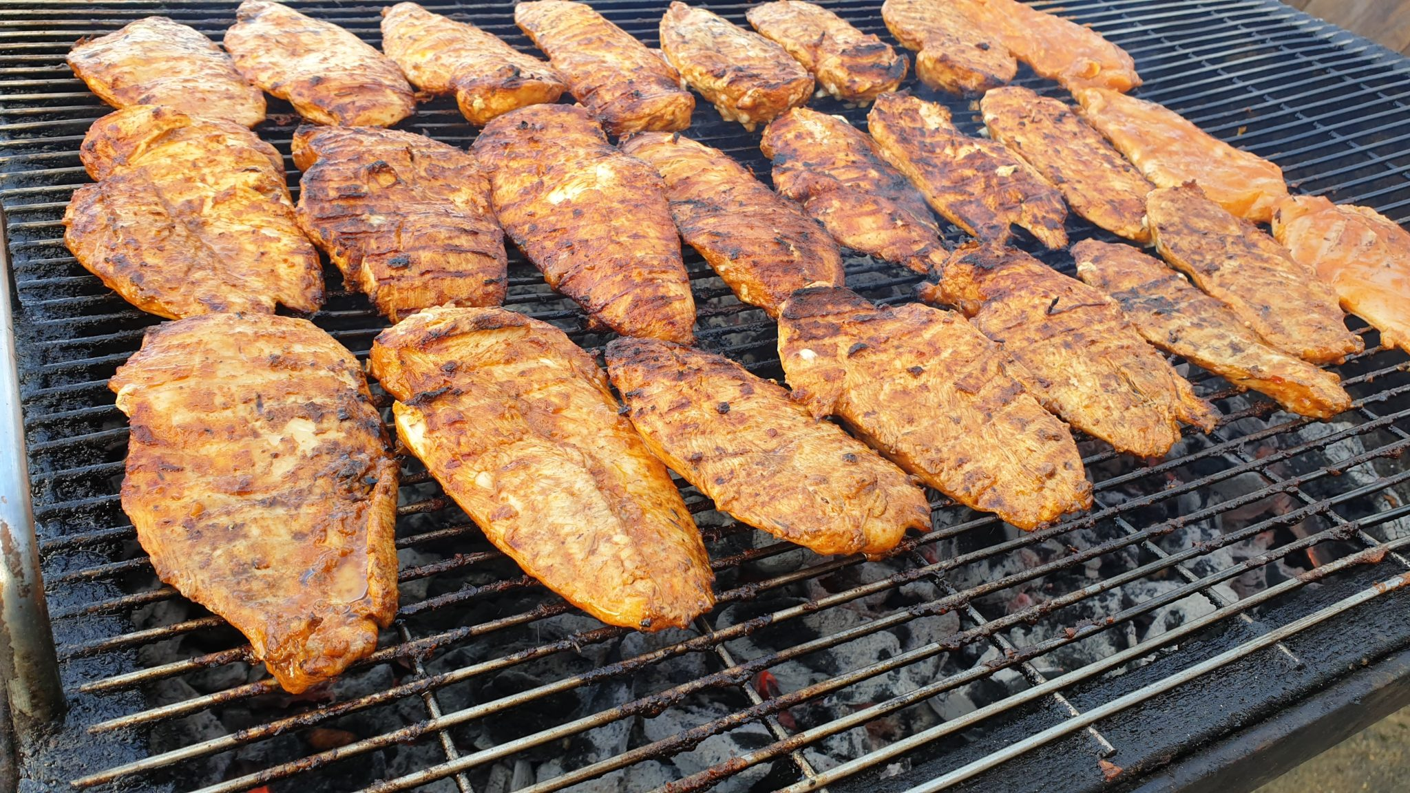 Peri Chicke Fillets @ Intergen Staff BBQ 17/1/2020